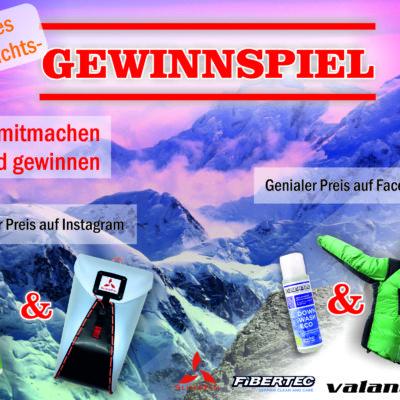 Mountain Peaks Weihnachts-Gewinnspiel